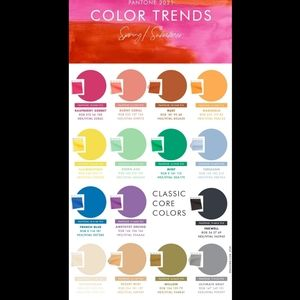 Pantone color trends for spring and summer 2021